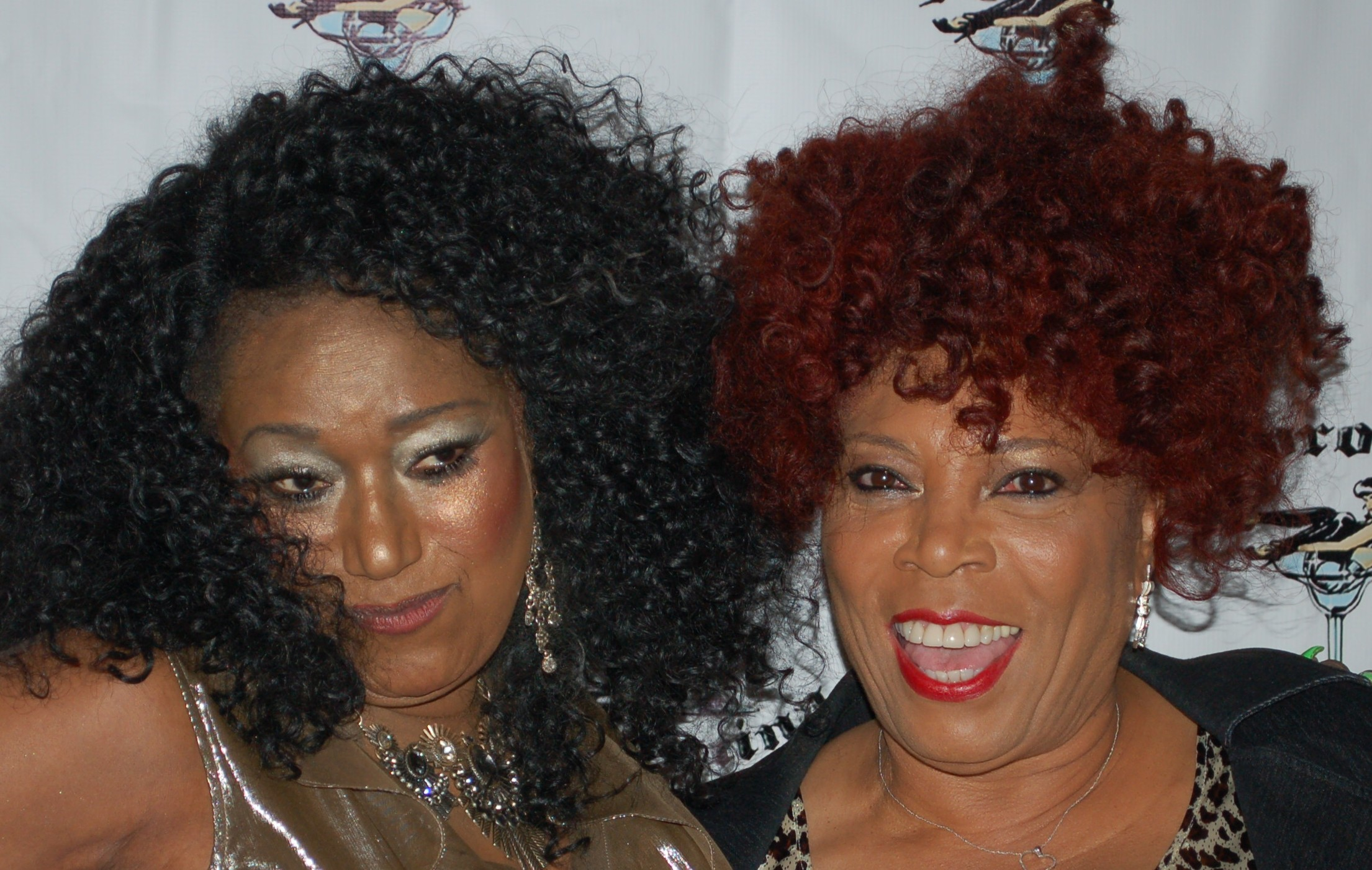 Bonnie Pointer and Jessica Williams