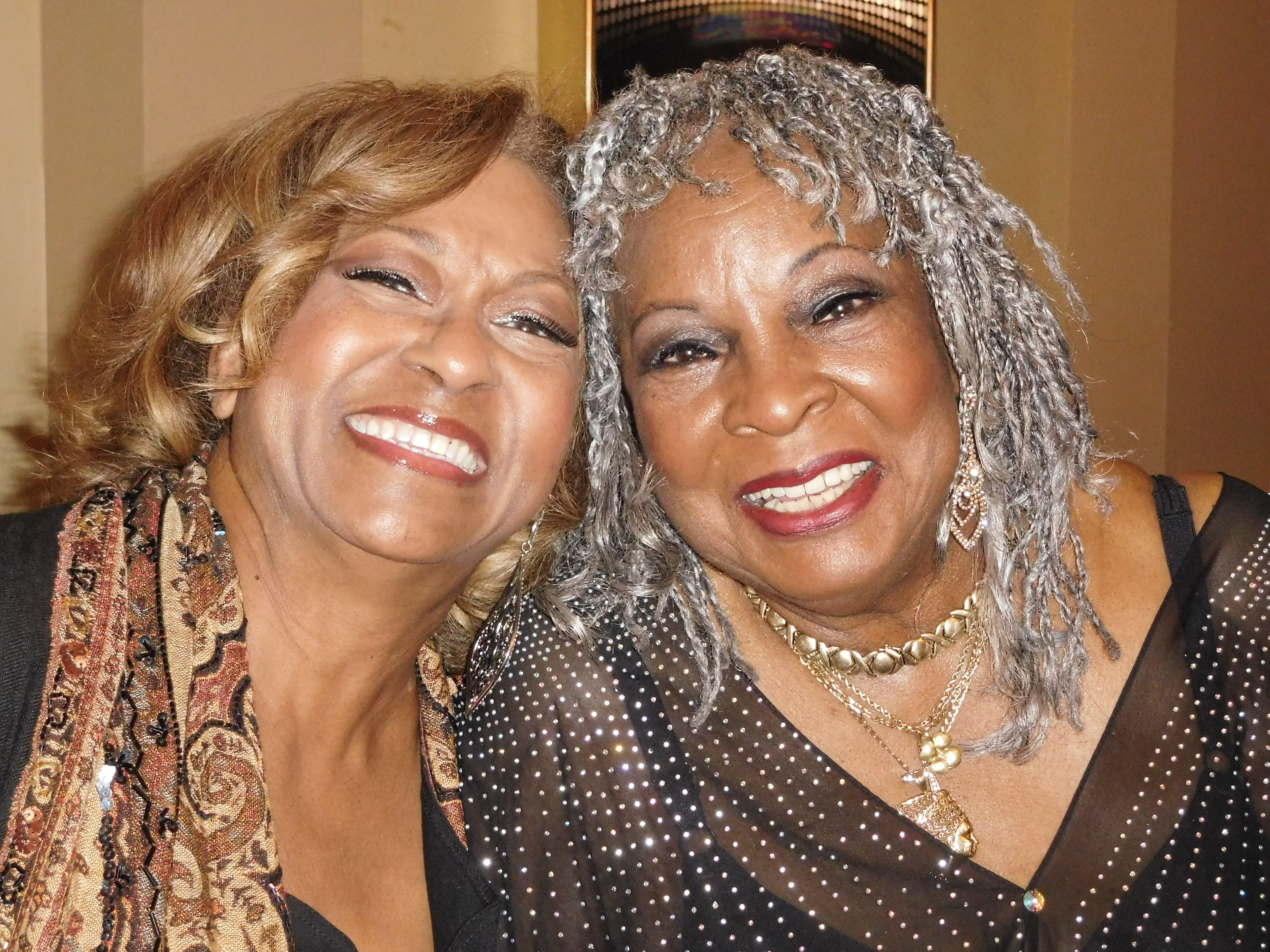 Lynda Laurence and Martha Reeves